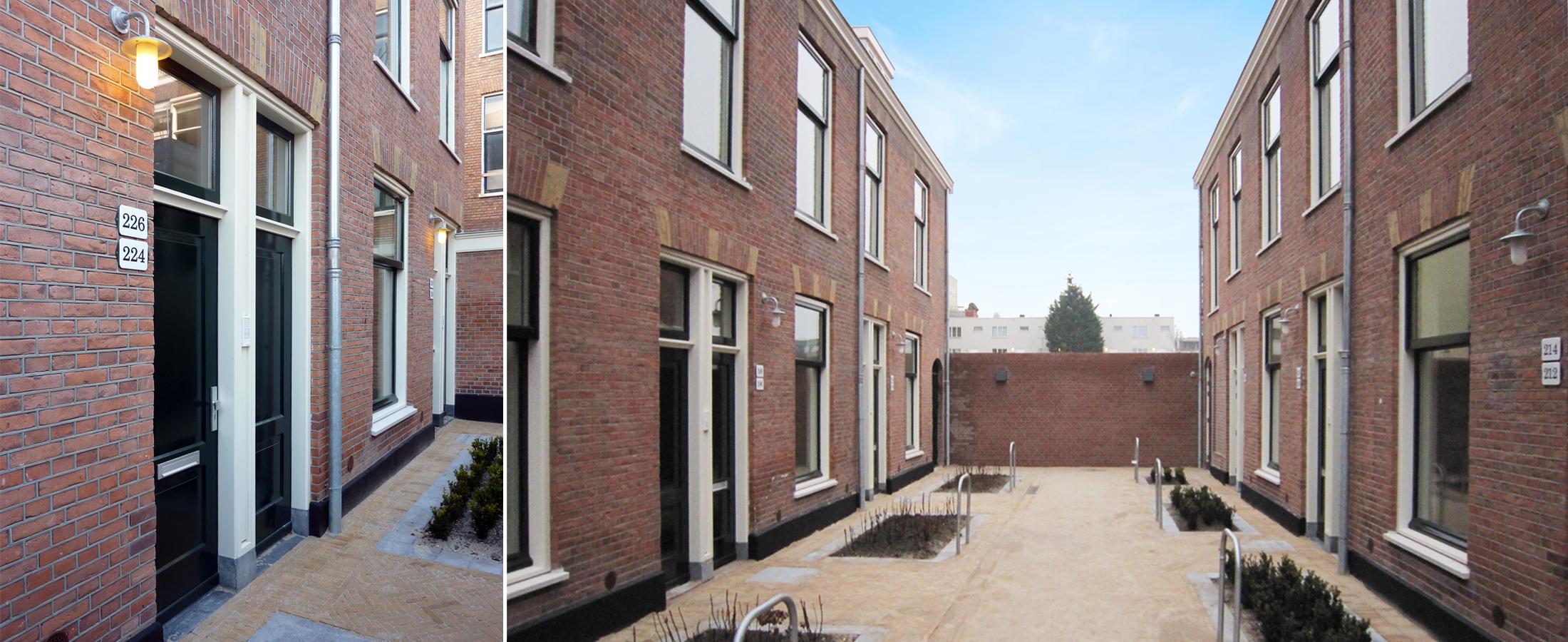 Studentenwoningen Prinsengrachthofje, Den Haag