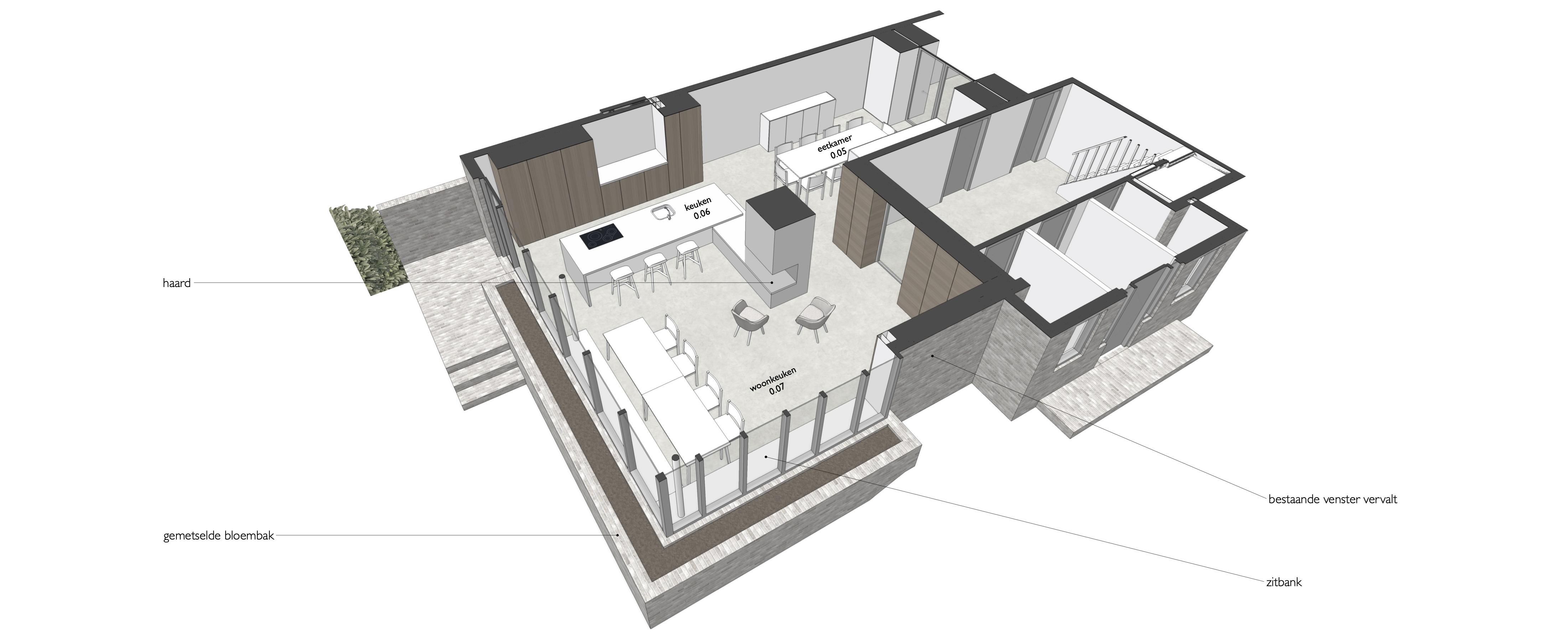 Verbouwing Villa Bremhorstlaan, Wassenaar